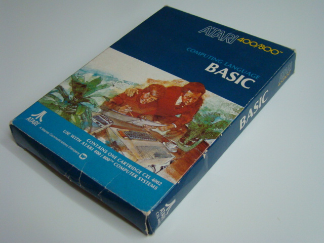 cartridge #BASIC Computing Language# Atari 400/800