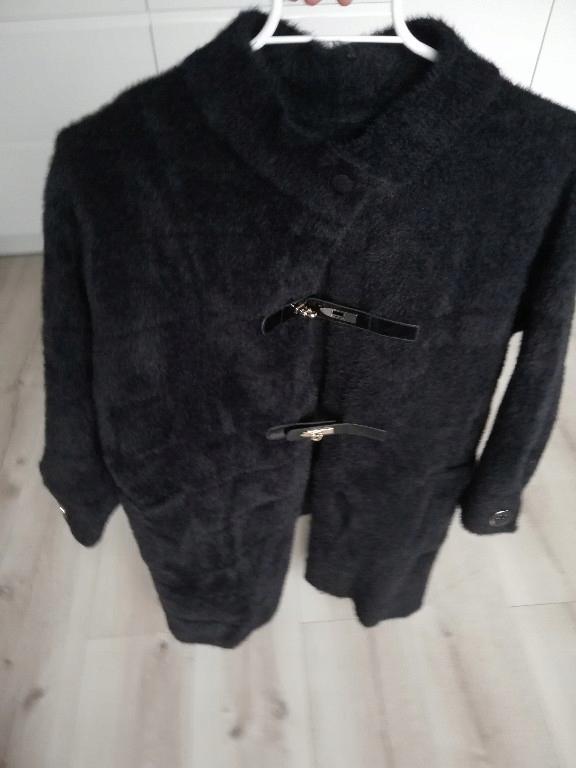Płaszcz oversize alpaka parka futerko oversize 7691690144