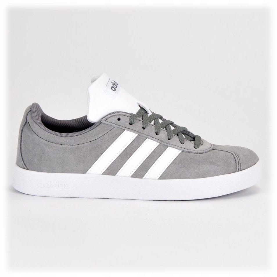 Szare Tekstylne Buty Męskie Sportowe Adidas rozmiar 43 13