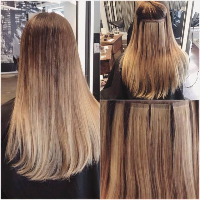 Wlosy Naturalne Hairtalk Ombre 40cm Kanapkowa 6927657272 Oficjalne Archiwum Allegro