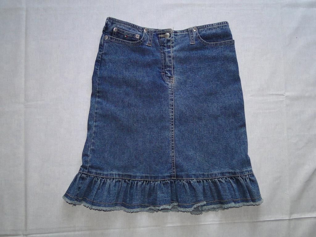 Jeansowa spódnica TOMMY HILFIGER rozm. 140 cm