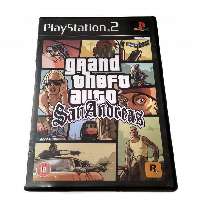 Gra Ps2 Grand Theft Auto San Andreas Gta Sa 7673239530 Oficjalne Archiwum Allegro