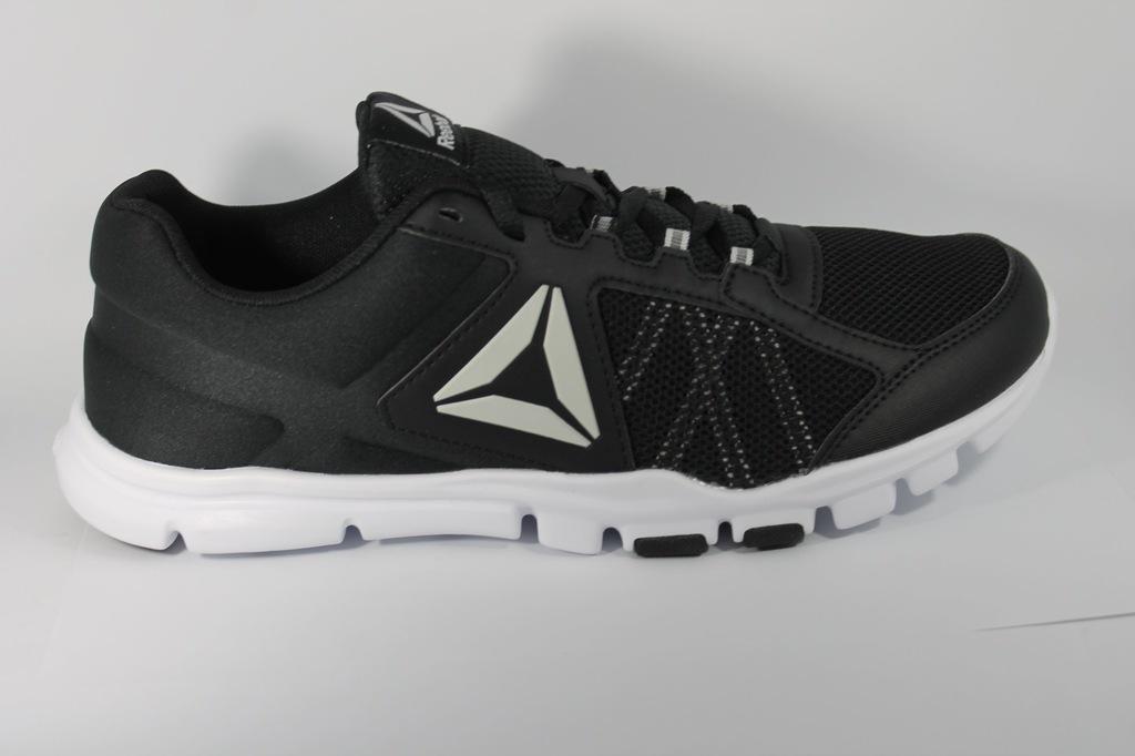 Reebok męskie buty do biegania your flex train 10 mt, czarne