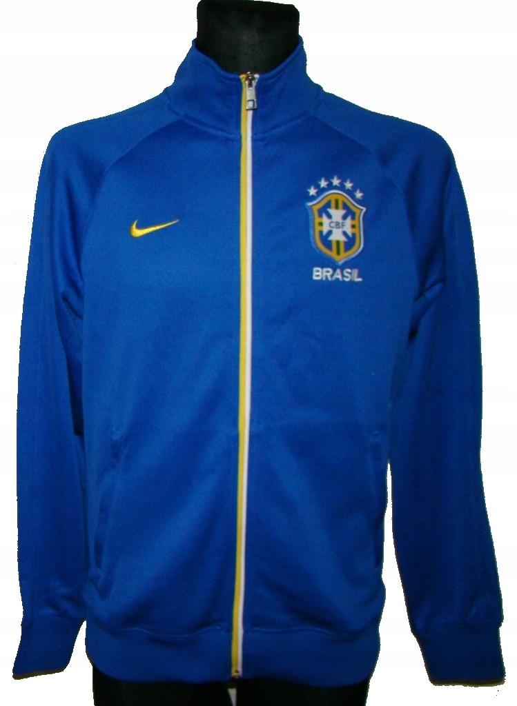 BRAZYLIA NIKE Oryginalna Bluza Męska S