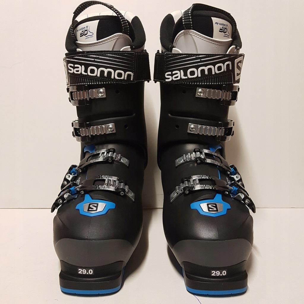 Buty narciarskie SALOMON X Pro 120 AnthraciteBLACKBlue
