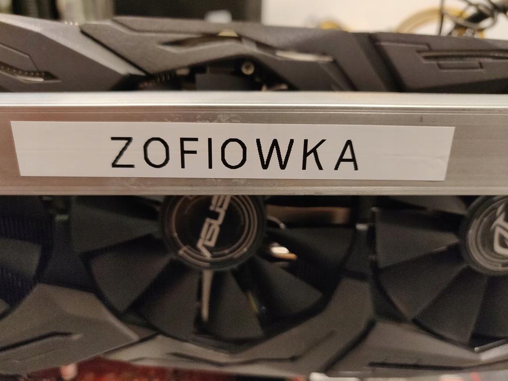 Koparka kryptowalut 8x GTX 1070 8GB, 289 MH/s