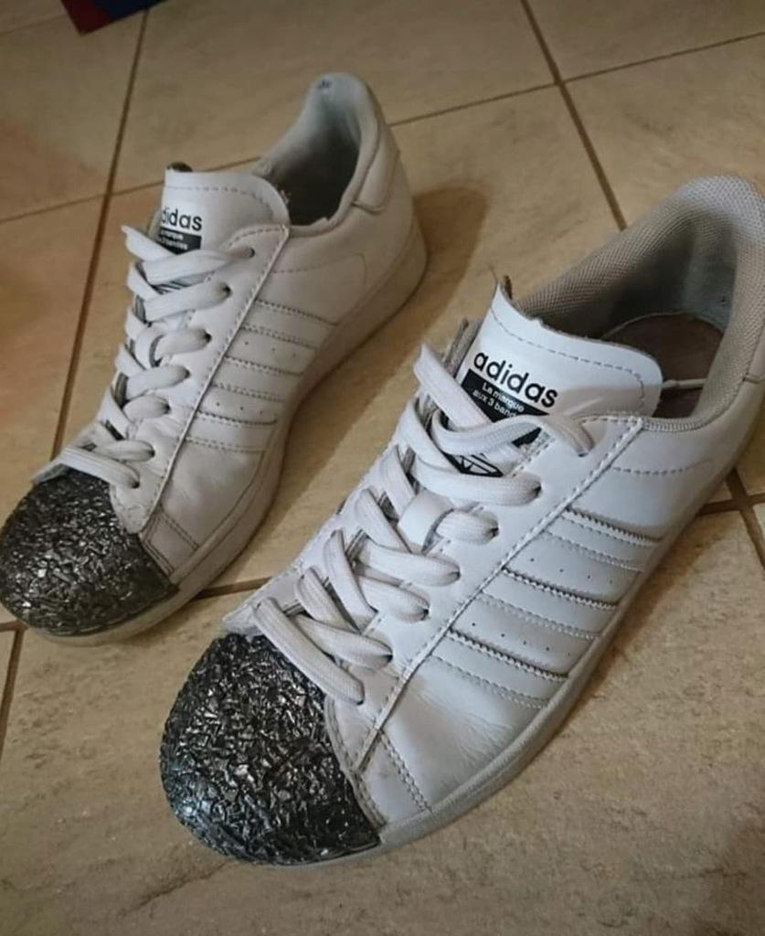 damskie buty sportowe adidas metalowe noski