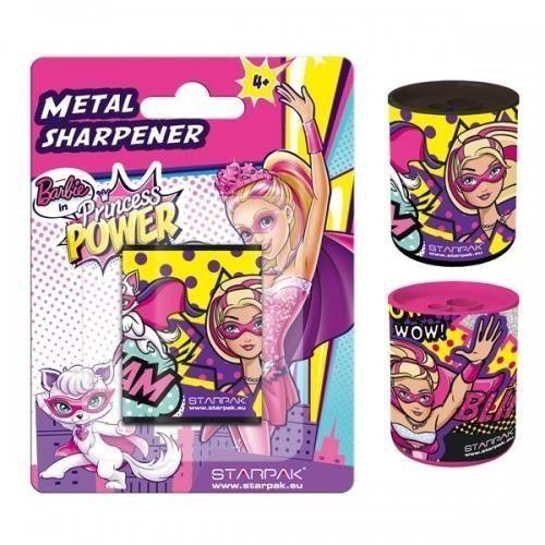 Temperówka metalowa Barbie Power