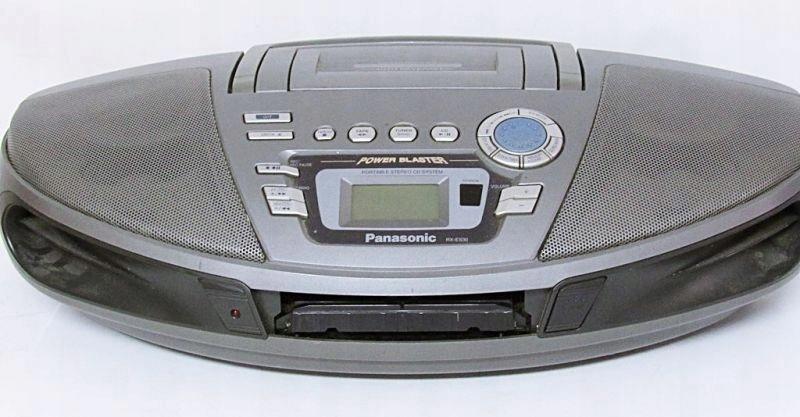 RADIO/MAGNETOFON/CD PANASONIC RX-ES30