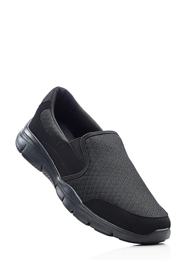 Buty wsuwane czarny 44 S 908801 bonprix