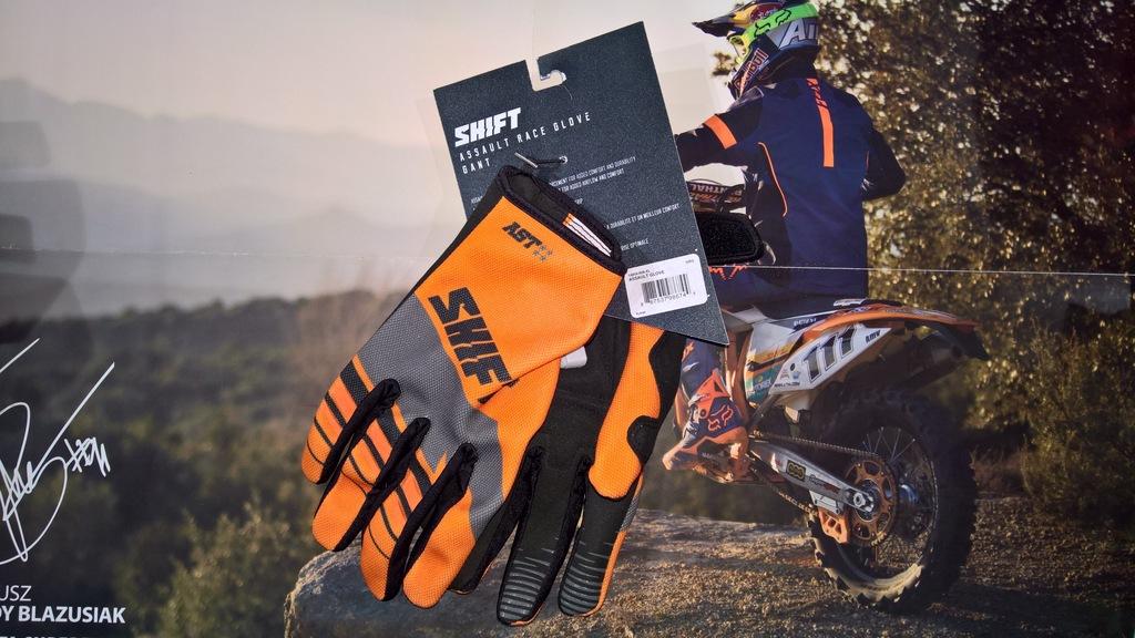 Rękawice Shift Assault Orange roz. XL