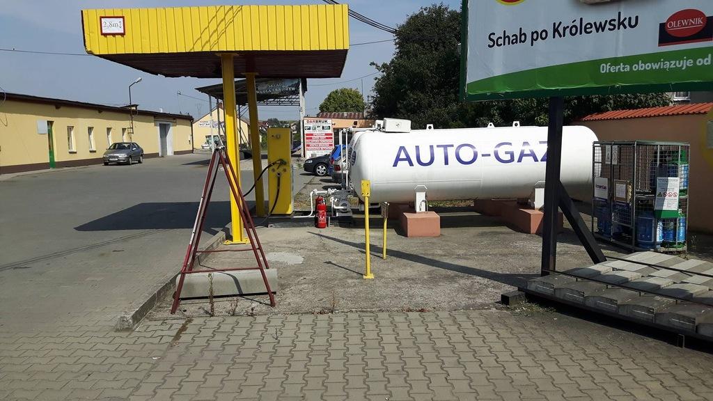 Stację Auto Gaz Dystrybutor,2 Pojemniki,Wiat