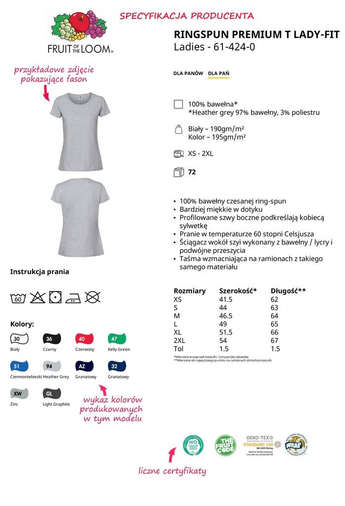 FRUIT koszulki damskie LOVE HEAVEN biała L 7156337544  8wJjS