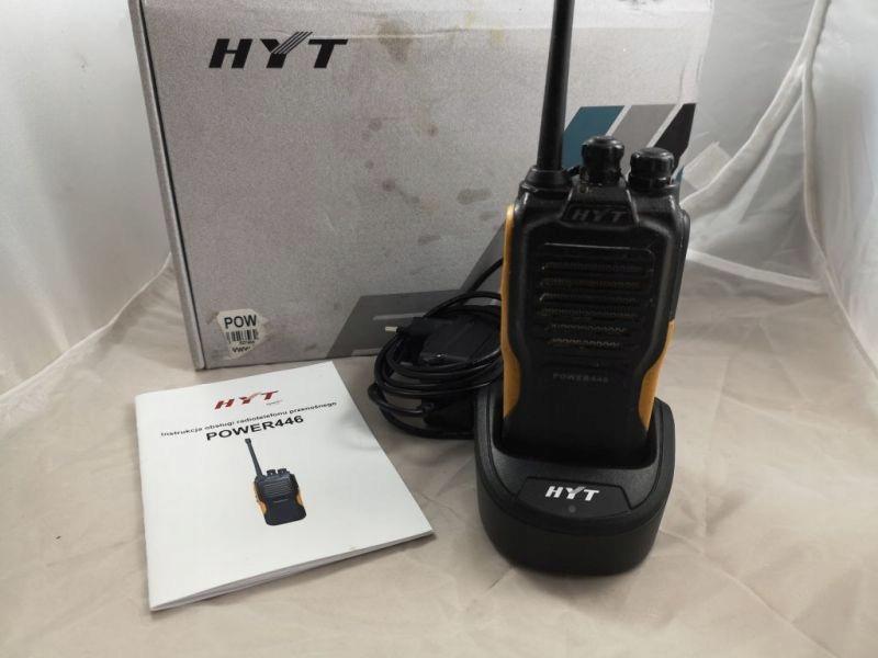 HYT POWER 446 KRÓTKOFALÓWKA RADIOTELEFON IP66 PUD