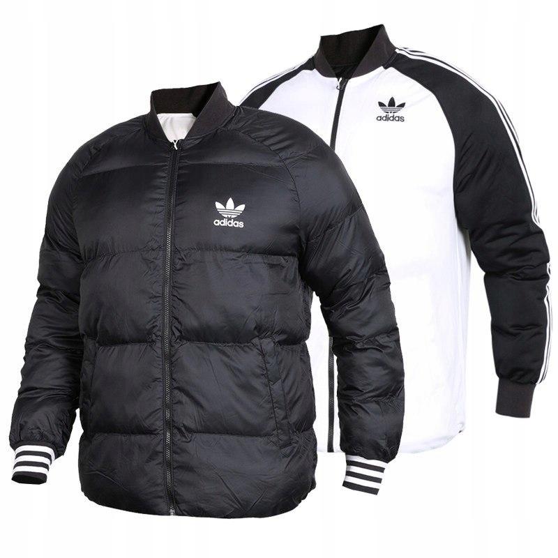 Kurtka Adidas Originals BR4798 Zimowa Dwustronna L