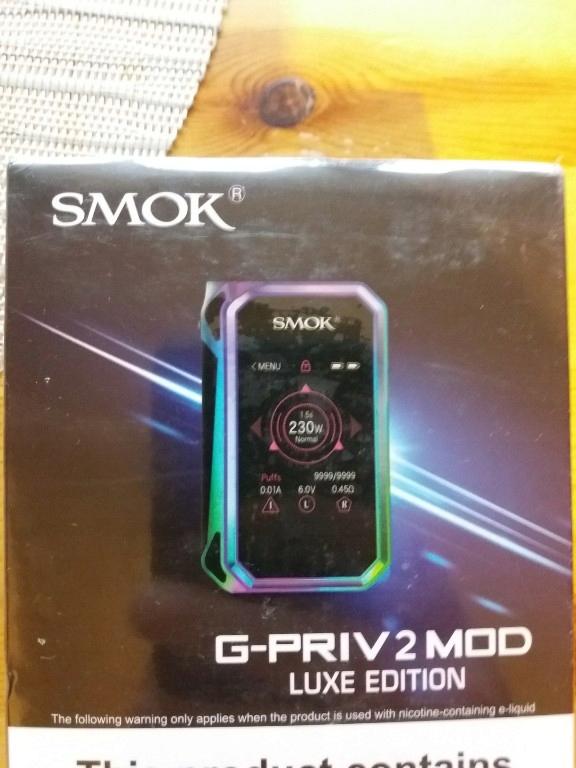 Smok G Priv 2 Luxe Edition Chrome 7747033335 Oficjalne Archiwum Allegro