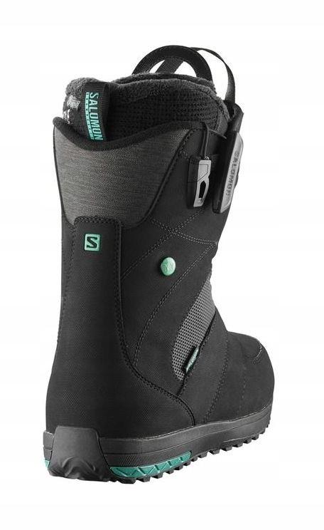 Buty Snowboardowe Salomon IVY Black