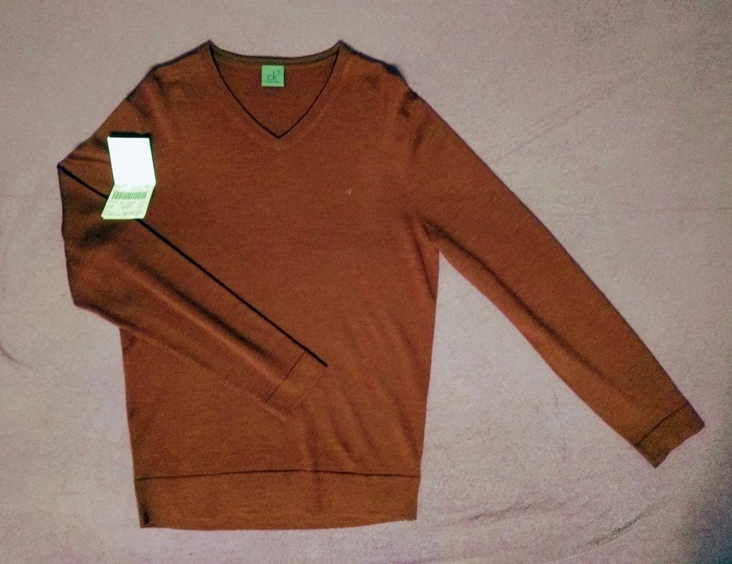 CALVIN KLEIN Sweter pulower bluza M NOWY Hilfiger
