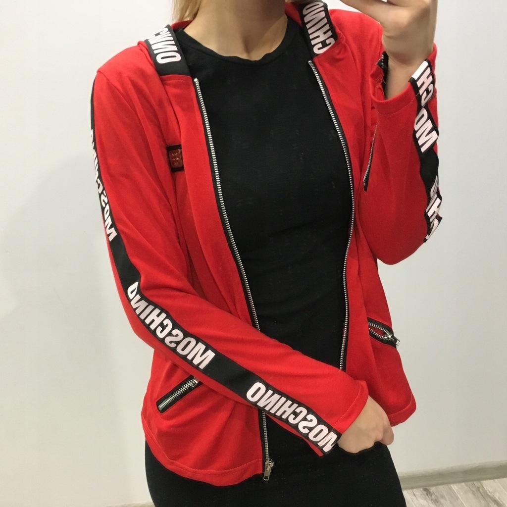 Czerwona bluza adidas SM