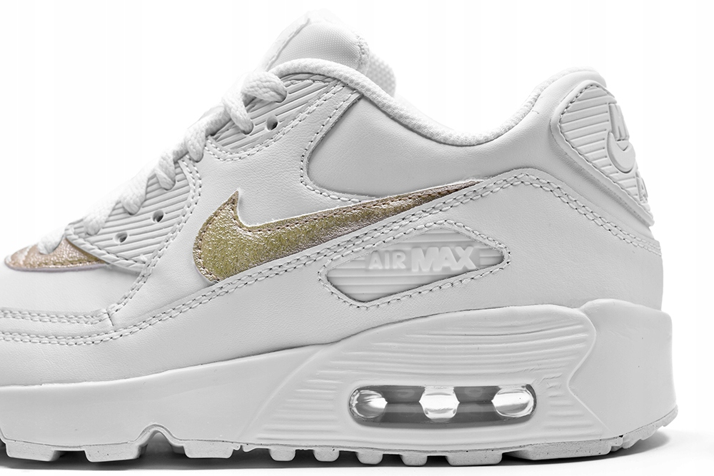 Buty Nike Air Max 90 LTR r.36,5 biało złote NOWOŚĆ