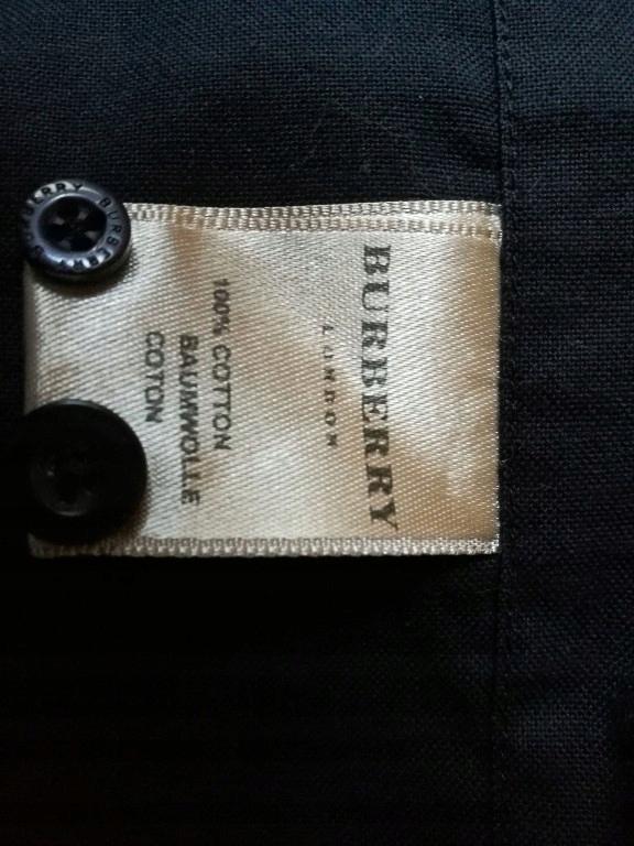 Burberry czarna koszula XXL 7577753667 oficjalne