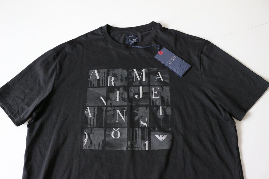 ARMANI JEANS  t-shirt  rozm  XL  ORYGINALNY  ŁÓDŹ