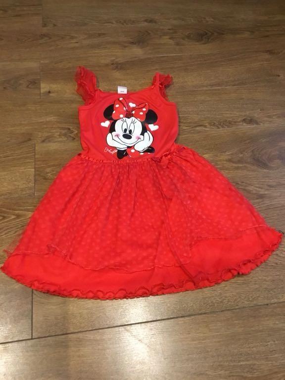 Sukienka Myszka Minnie r.6-7 lat