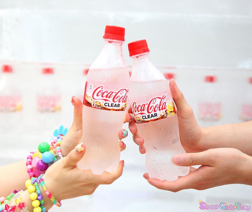 Coca Cola Clear Przezroczysta Cola Z Japonii 7699614113 Oficjalne Archiwum Allegro