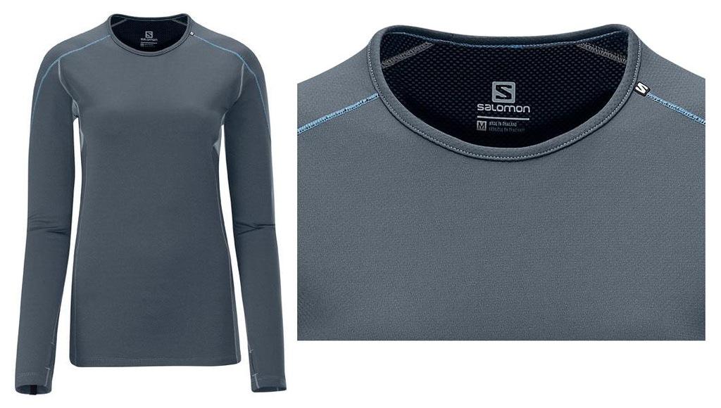 Salomon Mid Weight LS Crew Shirt bielizna damska S