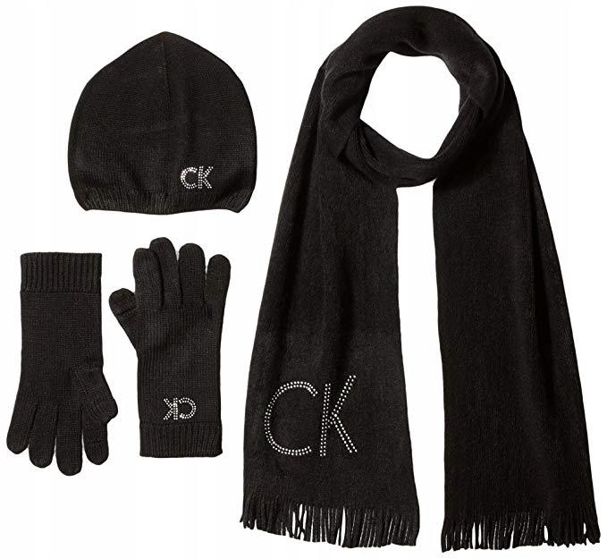 Calvin Klein damski komplet 3 częściowy komplet