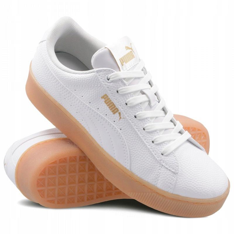PUMA (37,5) VIKKY PLATFORM BSQ buty damskie białe