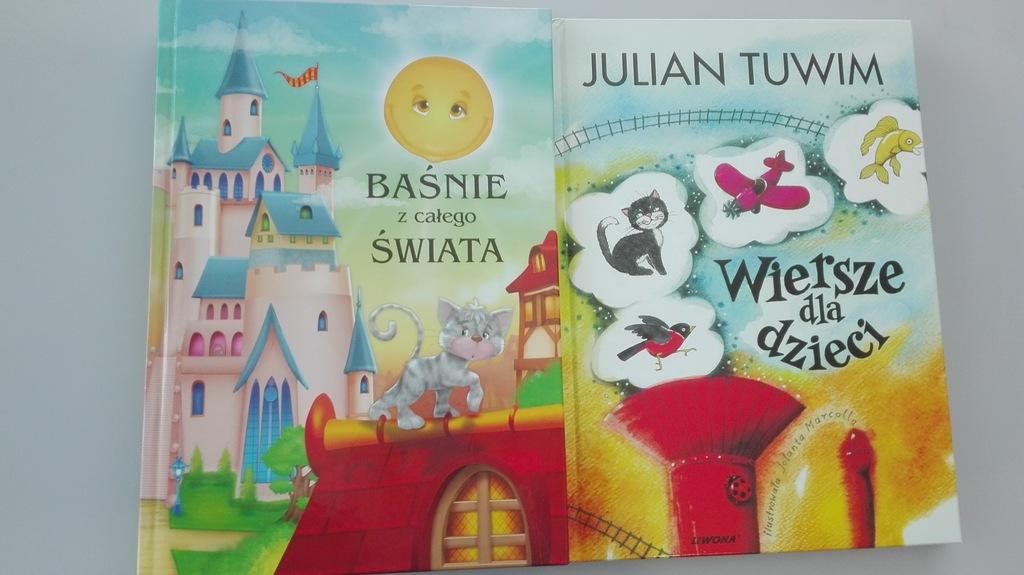 Baśnie Z Całego świata Wiersze Dla Dzieci Tuwim