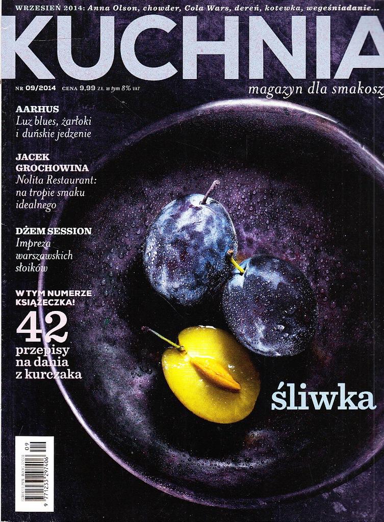 Kuchnia Magazyn Dla Smakoszy 09 2014 7354487139 Oficjalne Archiwum Allegro