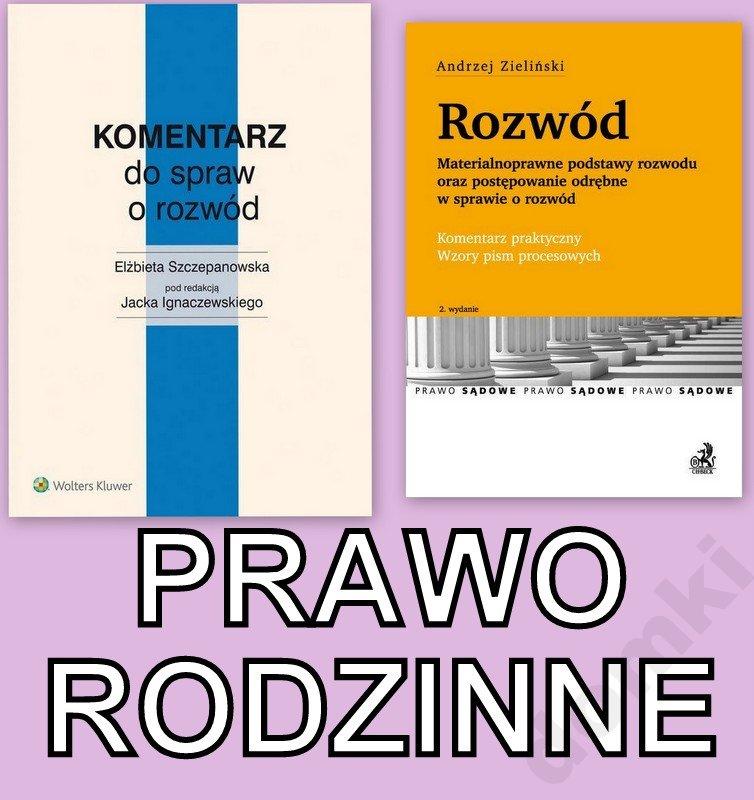 Komentarz Do Spraw Ignaczewski Rozwod Zielinski 6343947467 Oficjalne Archiwum Allegro
