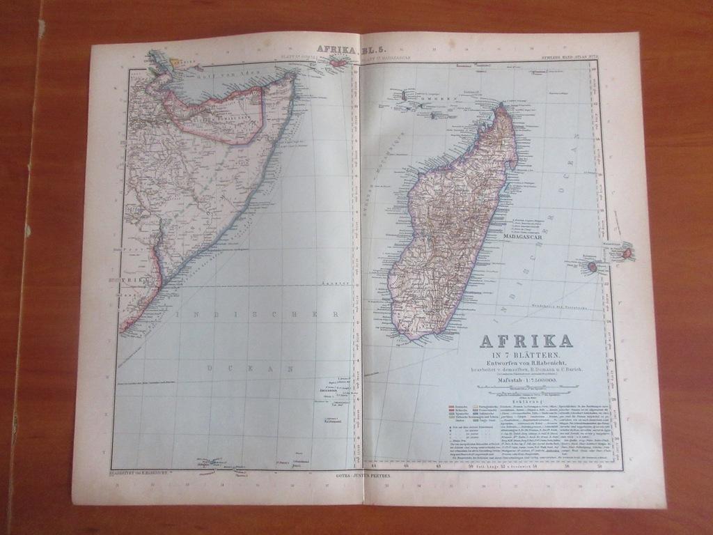 MADAGASKAR KOMORY SOMALIA  ROK 1904