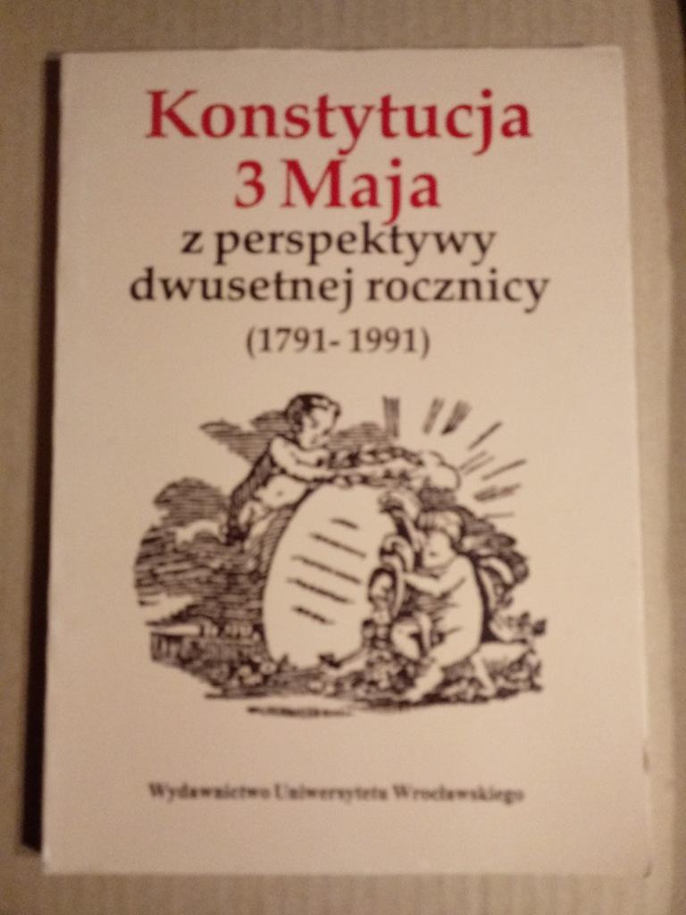 książka Konstytucja 3 Maja z perspektywy...