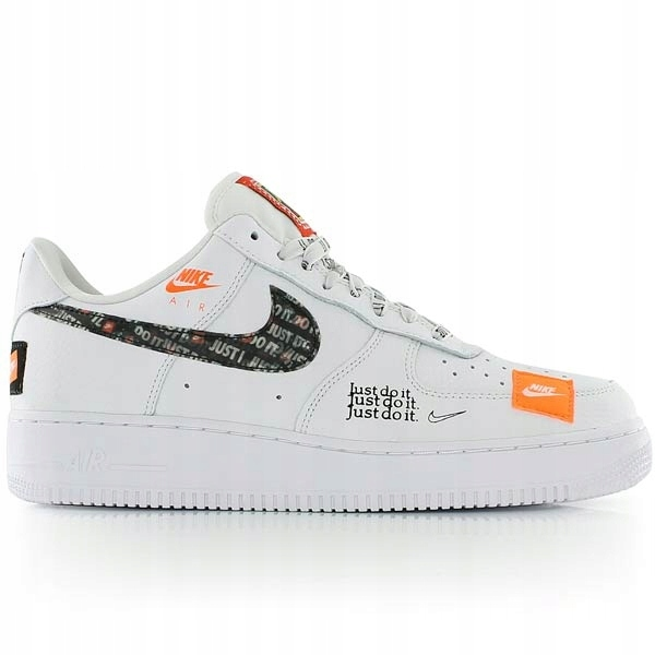 Nowe Nike Air Force 1 '07 Just Do It roz eur 42