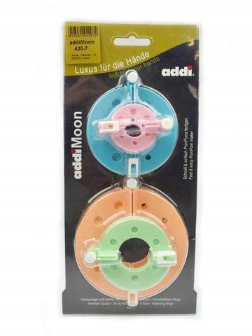 Przyrząd do robienia pomponów ADDI 420-7 4szt!