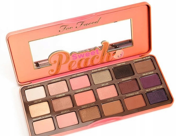 Paleta Cieni Too Faced Too Faced Sweet Peach Palet 7502350601 Oficjalne Archiwum Allegro