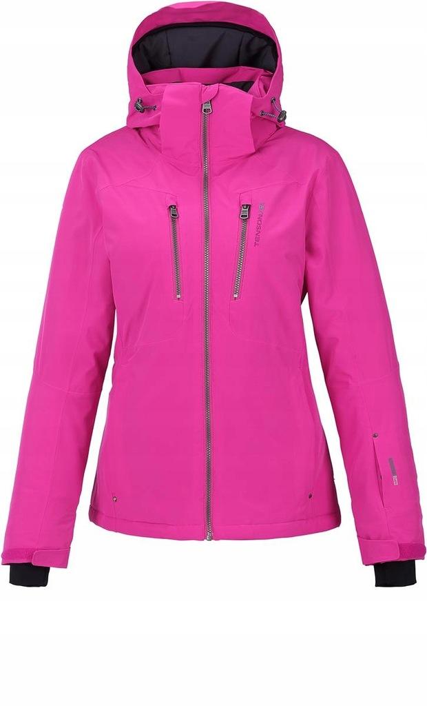 kurtka narciarska damska 36 różowa