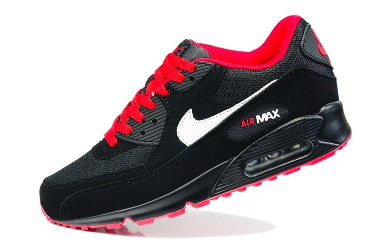 czerwono czarne nike air max damskie