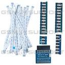 Zestaw kabli JIG Flex JPIN JTAG Molex 33w1 MOORC