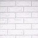 Tapeta szara biała cegła mur tynk 3D flizelina