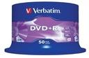 PŁYTY VERBATIM DVD+R 4,7GB 16x AZO Cake 50 szt