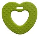 1szt gryzak dodatek do zabawek serce zielone