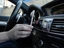 Uchwyt do samochodu na telefon do kratki na magnes Kolor wielokolorowy