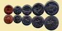 MALEZJA zestaw 5 monet