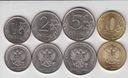 ROSJA zestaw 4 monet 2016