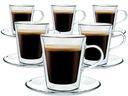 Szklanki Termiczne Kawy Herbaty Lungo 220ml 6szt