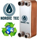 Wymiennik ciepła NORDIC 300kW 50-płytowy 2'' (50) Sposób montażu Stojące funkcyjne